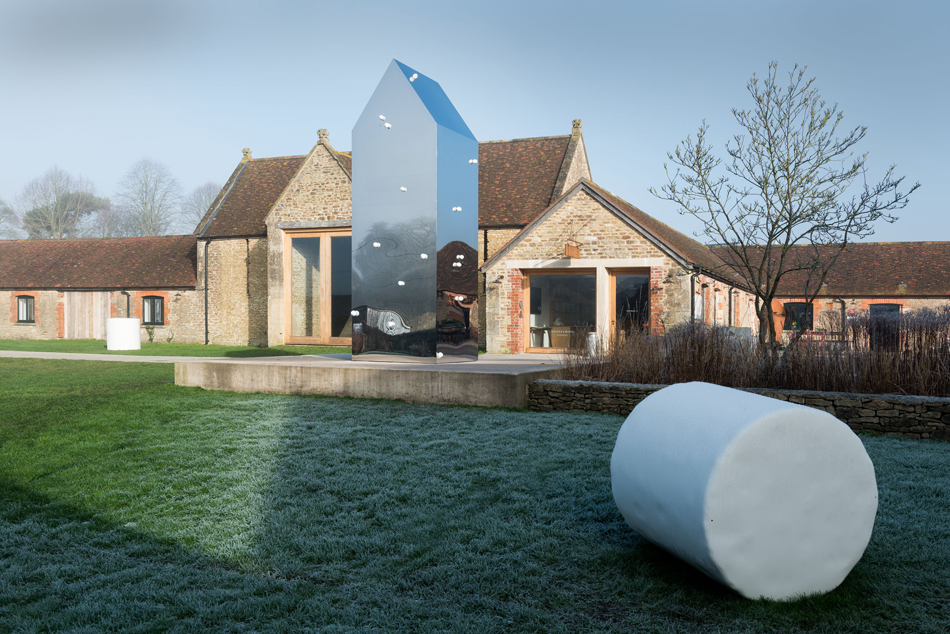 Not Vital sculptures at Hauser & Wirth Somerset