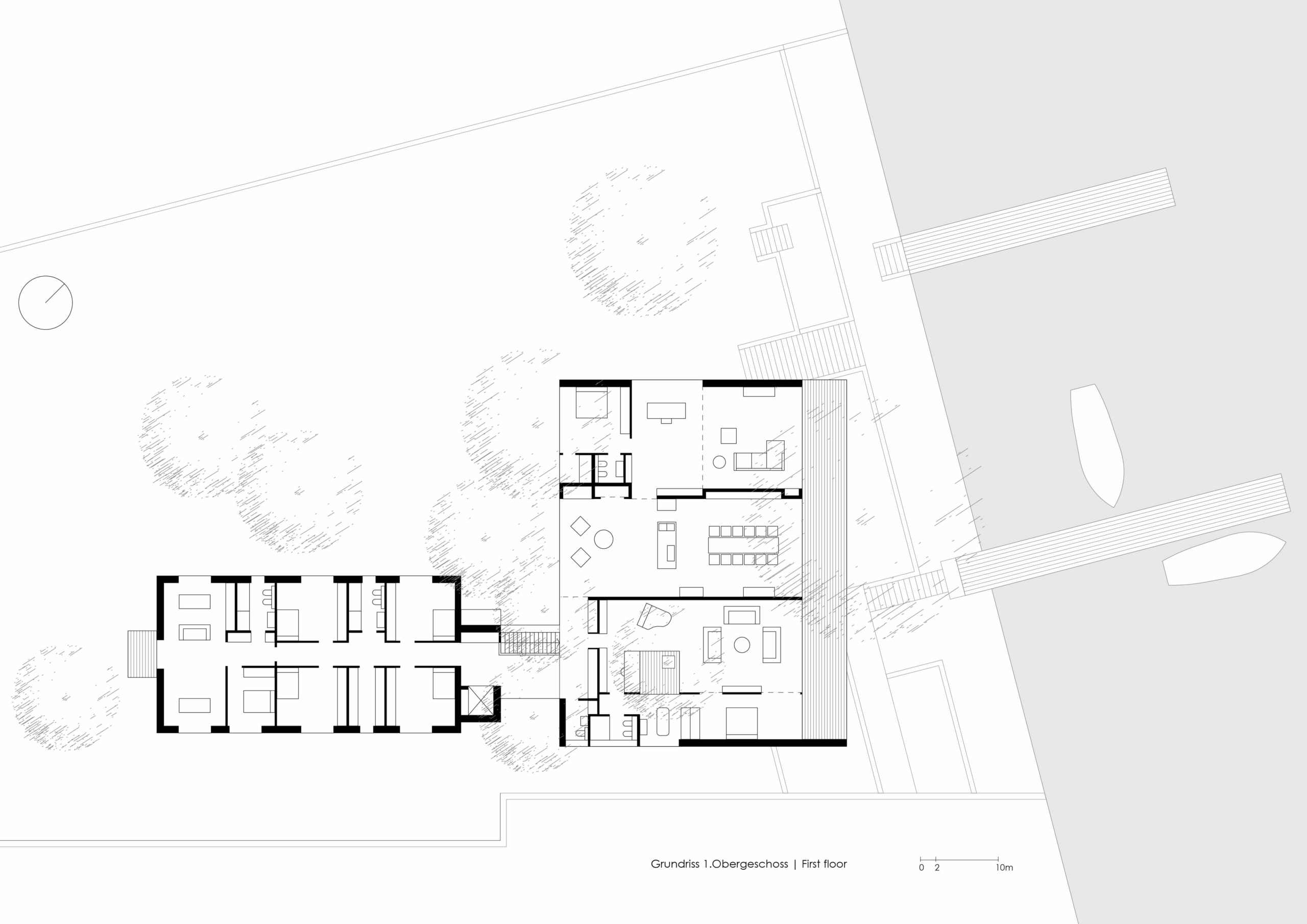 House by the Lake floor plan